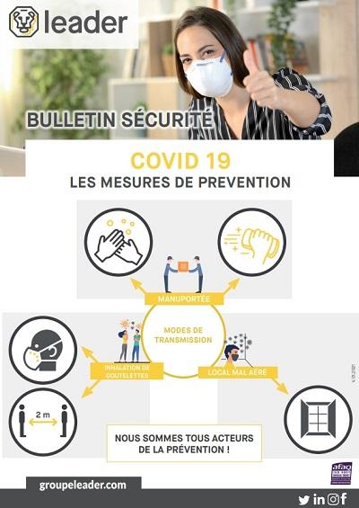 coronavirus pandémie covid covid19 emploi travail recrutement OHSAS